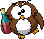 https://pixabay.com/en/owl-drunk-alcohol-animal-beer-158415/